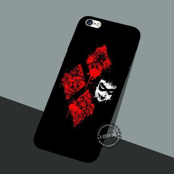 Harley Quinn Symbol - iPhone 7 6 SE Cases & Covers #movie #superheroes