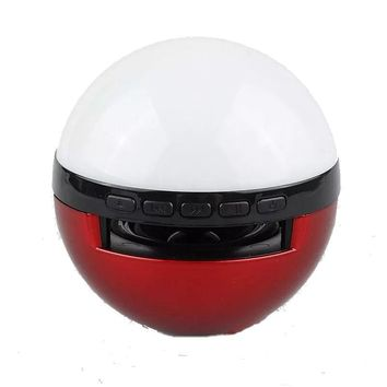 Cosplay Anime pokemon pikachu ash pokeball ball mini speaker