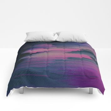 Tickled Pink Comforters by DuckyB