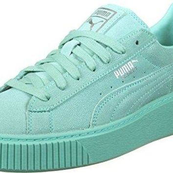 Puma Basket Platform Reset Womens Trainers 363313 Sneakers Shoes
