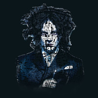 Typo-songs Jack White Art Print by Daniac Design