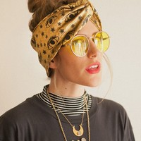 Starry eyes turban - I'm With The Band Headbands collab