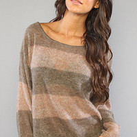 The Wide Stripe Pullover Sweater : Free People : Karmaloop.com - Global Concrete Culture