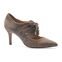 Isola Women's Palazzo Pointed-Toe Pumps - Taupe Grey