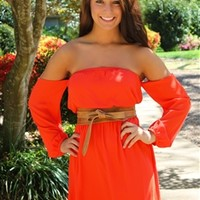 The Juliet Dress in Red