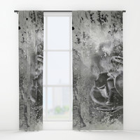 Last Time I Saw Paris Window Curtains by Theresa Campbell D'August Art