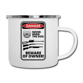 Beware of Owner Camper Mug
