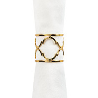 Meridian Napkin Ring - Set of 4 | Napkin Rings | Tableware | Z Gallerie