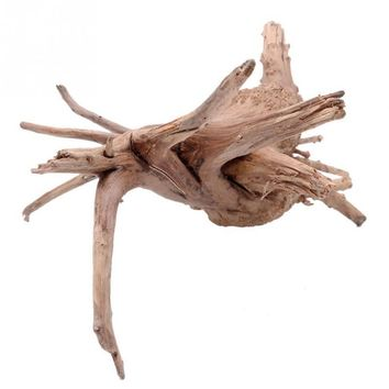2017 Hot Personality Wood Natural Trunk Driftwood Tree Aquarium Ornament Solid Wood Root Plant Fish Tank Decor Free shipping