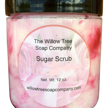 Sugar Scrub, 20 Ounce Jar