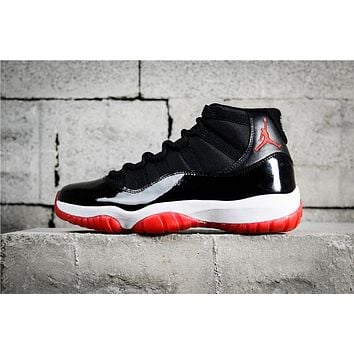 Air Jordan 11 Retro Black/Red 378037-010