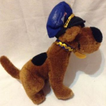 "Scooby Doo Mini 7"" Plush POLICE Dog HANNA-BARBARA Stuffed Animal"