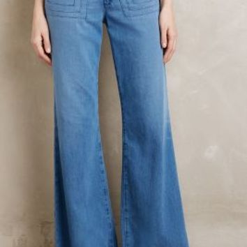AG Carly Wide-Leg Jeans in Studio Size: