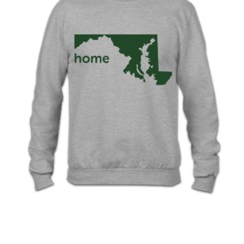 maryland home - Crewneck Sweatshirt