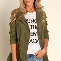 Blank Canvas Jacket Olive