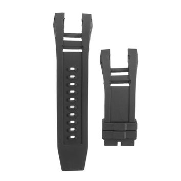 Silicone Watch Band Strap Replace for Invicta Subaqua Noma IV 4 6582 0519 1153