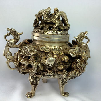 Antique Bronze Incense Burner Your Majesty