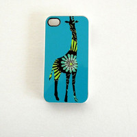 Giraffe Case for iPhone 4 / 4S ORIGINAL Artwork by SassyCases
