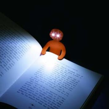 Light Man -- Flexible Book Light