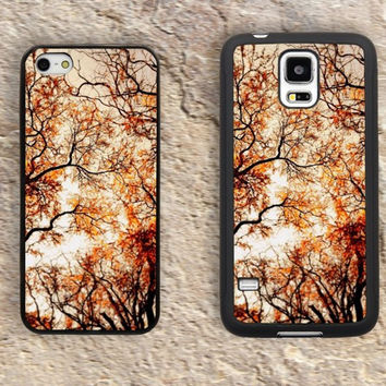 Autumn Tree iPhone Case-Halloween iPhone 5/5S Case,iPhone 4/4S Case,iPhone 5c Cases,Iphone 6 case,iPhone 6 plus cases,Samsung Galaxy S3/S4/S5-159