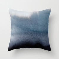 In Blue Throw Pillow by Georgiana Paraschiv