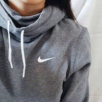 """NIKE"" Women Fashion Hooded Top Sweatshirt Sweater Hoodie Pullover"