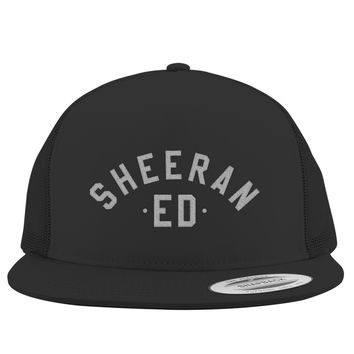 Ed Sheeran The A Team Embroidered Trucker Hat