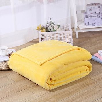 Flannel Blanket  Christmas Gift Winter Warm Bedclothes for Beds Plaid Fleece Blanket Mermaid Tail Blanket