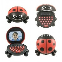 MAGNETIC LADYBUG DESKMATE CALCULATOR & SHARPENER | ATP613-KK | Free Shipping on Orders +$45