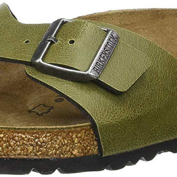 Birkenstock MADRID Ladies Buckle Mule Sandals Olive