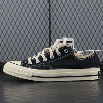 Converse 1970s Fashion Canvas Flats Sneakers Sport Shoes Black