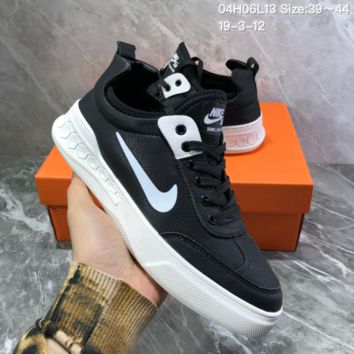 HCXX N921 Nike Dunk SB Neon J-Pack 2019 Leather Low Skate Shoes Black White
