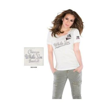Chicago White Sox Women's Vintage Thermal T-Shirt