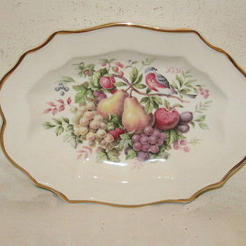 Avon Products 1976 Enoch Wedgwood Decorative Collector's Plate Made Exclusively for Avon ~Vintage~