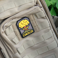 """Military """"Canceled"""" PVC Patch"""
