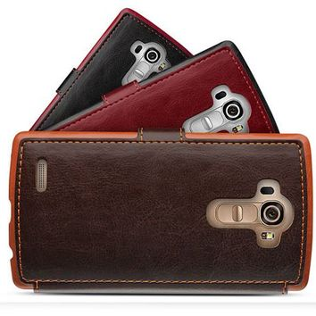 VERUS Dandy Layered Wallet Leather Case for LG G4
