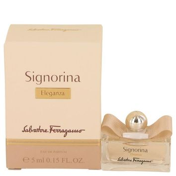 Signorina Eleganza by Salvatore Ferragamo Mini EDP .15 oz