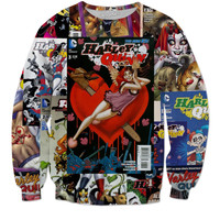 Harley Quinn Comic Sweater