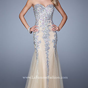 Floor Length La Femme Prom Dress
