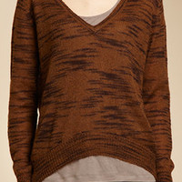 Leroy & Perry: TIGER STRIPE V-NECK