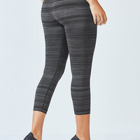 Lara Seamless Lurex Capri Tight