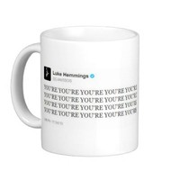 "5SOS ""YOU'RE YOU'RE YOU'RE YOU'RE YOU'RE"" Mug"