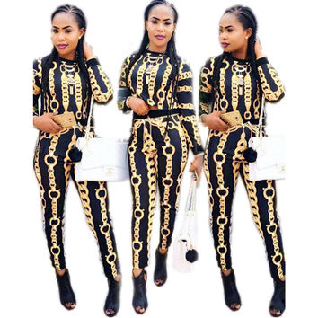 Summer Traditional African Clothing 2 Piece Set Women Africaine Print Dashiki Dress African Clothes indian bazin riche femmeG010