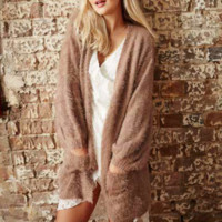 somedays lovin - colours of dawn cardigan - taupe