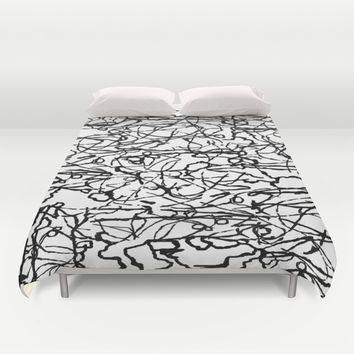 String Theory Duvet Cover by Artful Sprinkles