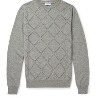 Exemplaire - Patterned-Knit Cashmere Sweater | MR PORTER