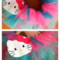 Hello Kitty toddler tutu