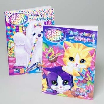 Bulk Lisa Frank Coloring and Activity Book
