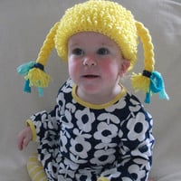 MADE TO ORDER Cabbage Patch Hat - Baby Toddler Youth Teen Adult Halloween Costume - Handmade by The Hippie Patch