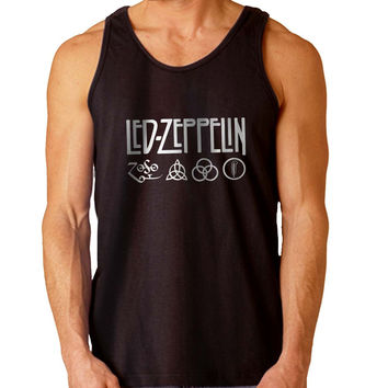 led zeppelin symbol For Mens Tank Top Fast Shipping For USA special christmas ***